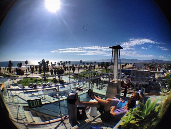 High Rooftop Bar Venice Ca Cali Bars Restaurants We Love
