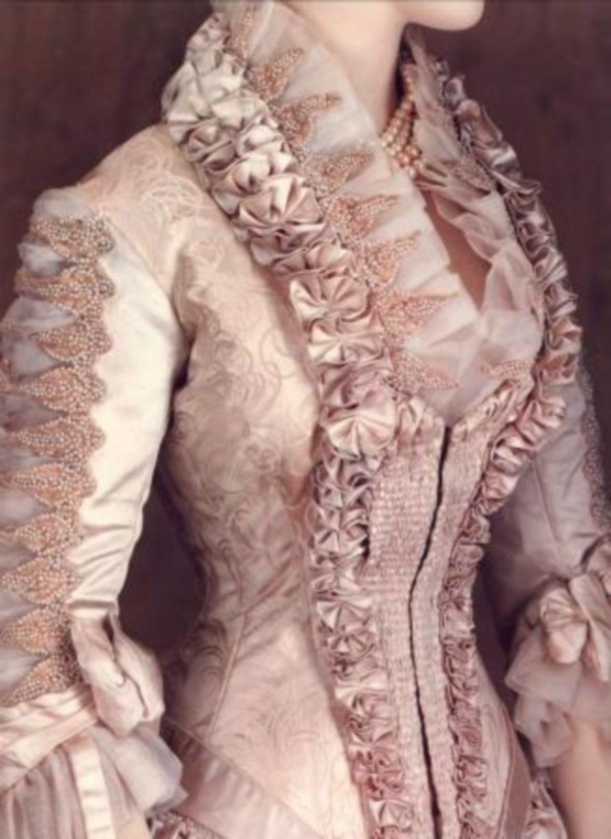 Worth gown 19th century | Vestidos | Pinterest | Victoriano, Moda ...