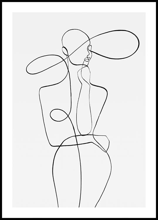 Photo of Peytil Monday Lines Poster #abstraktezeichnungen Peytil Monday Lines – Fashion p…