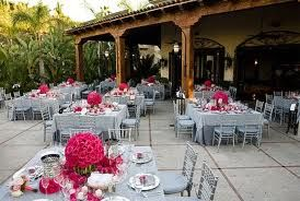 decoração de casamento rosa pink com cinza simples - Pesquisa Google