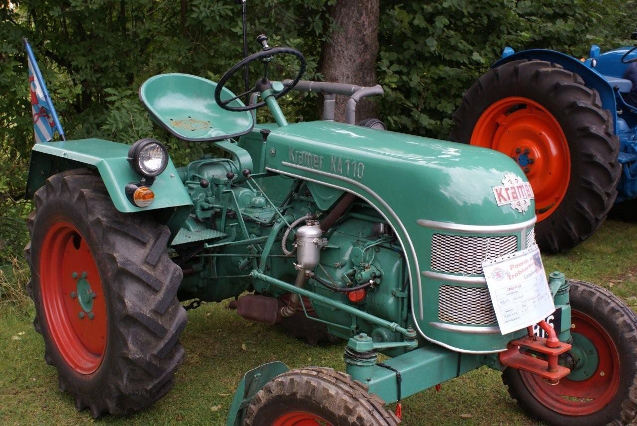 Alle Grossen Kramer Ka110 Tractor Flickr Fotosharing Fahrzeuge Traktoren Oldtimer