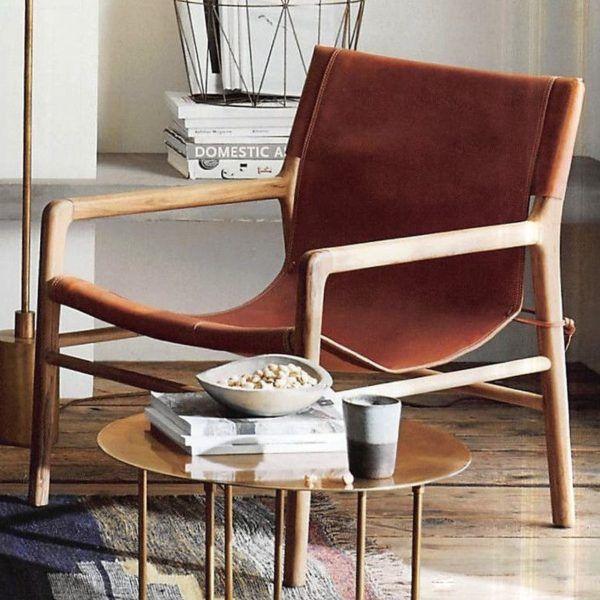 Swell Belmont Leather Chair Cognac For The Home Chair Creativecarmelina Interior Chair Design Creativecarmelinacom