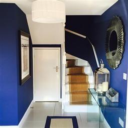 Couleurs drawing room blue farrow ball staircase pinterest peinture salon escaliers - Bleu farrow and ball ...
