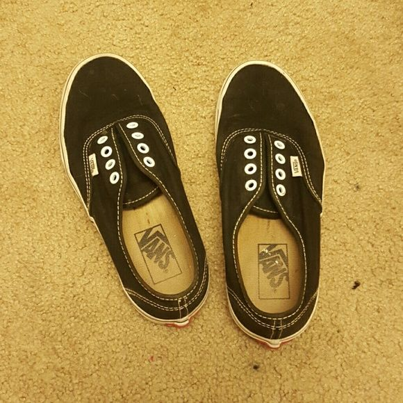 Vans! Great condition but no laces :( totally open to offers ! Vans Shoes Sneakers