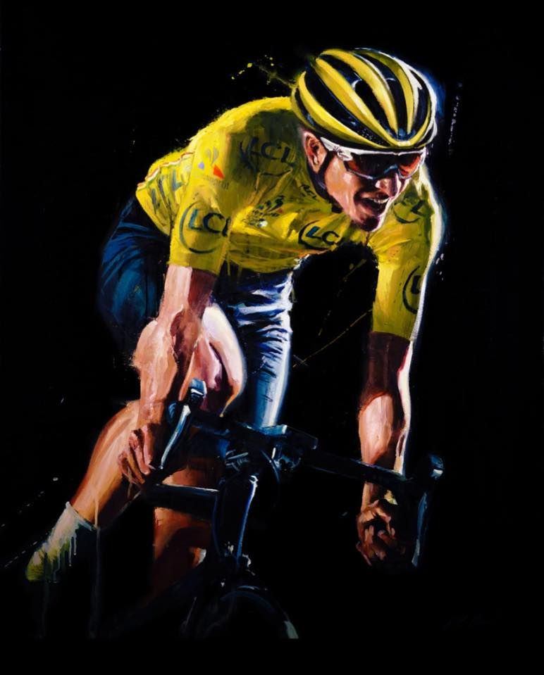 Froomey!!! Tour de France 2016 official games artwork by @Karlkop/Karl Kopinski Credit: @Pro Cycling Manager SIMPLY FANTASTIC!!!