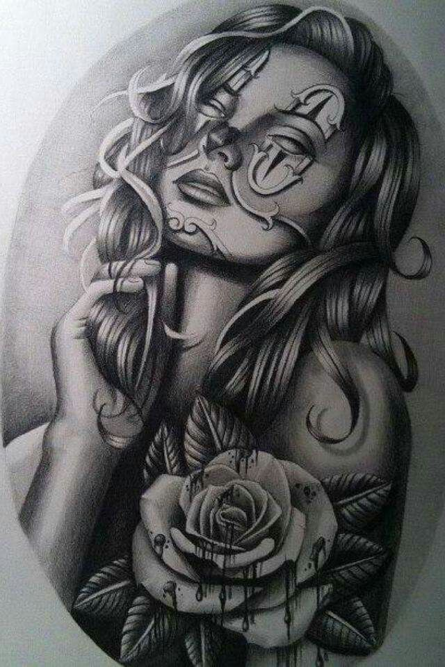 katrina schwarze Tinte