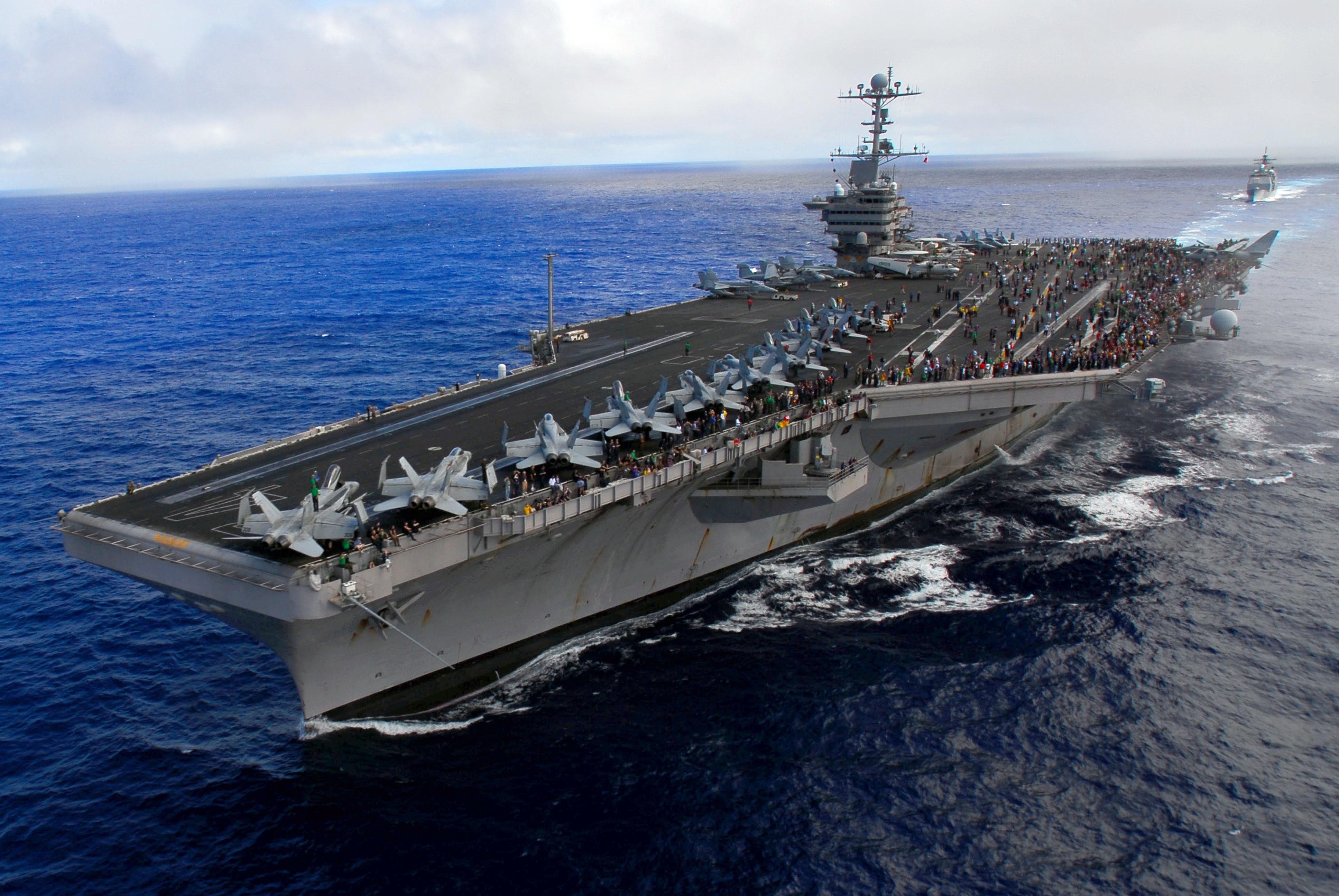 Nimitz class USS John C  Stennis (CVN-74)   Aircraft carrier