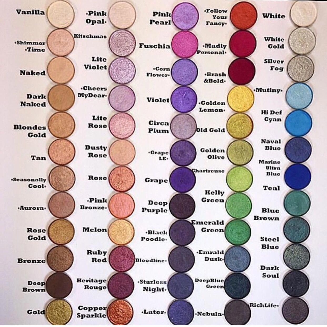 Really love this mac palettes macpalettes (With images