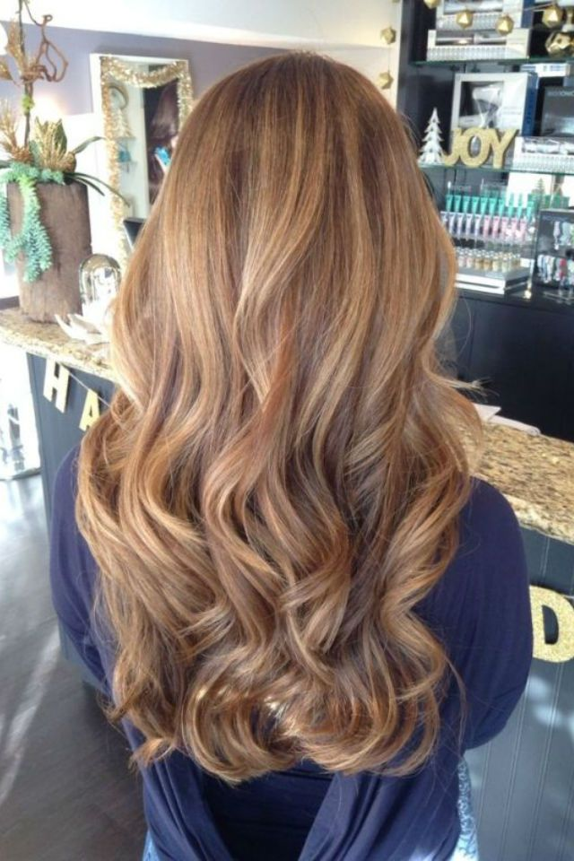 36 Blonde Balayage With Caramel Honey Copper Highlights Balayage
