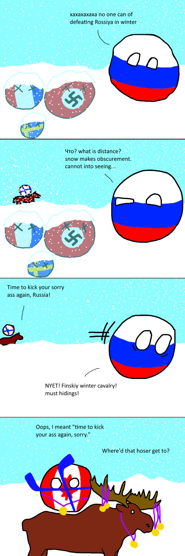 Modern Winter War Russia Canada Country Jokes Funny Pictures Country Humor