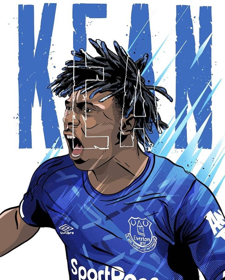 Soccer Image By Ctw Sean Mcsharry Football Illustration Everton Wallpaper Football Wallpaper
