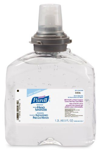 Purell 5456 04 Advanced Instant Hand Beauty
