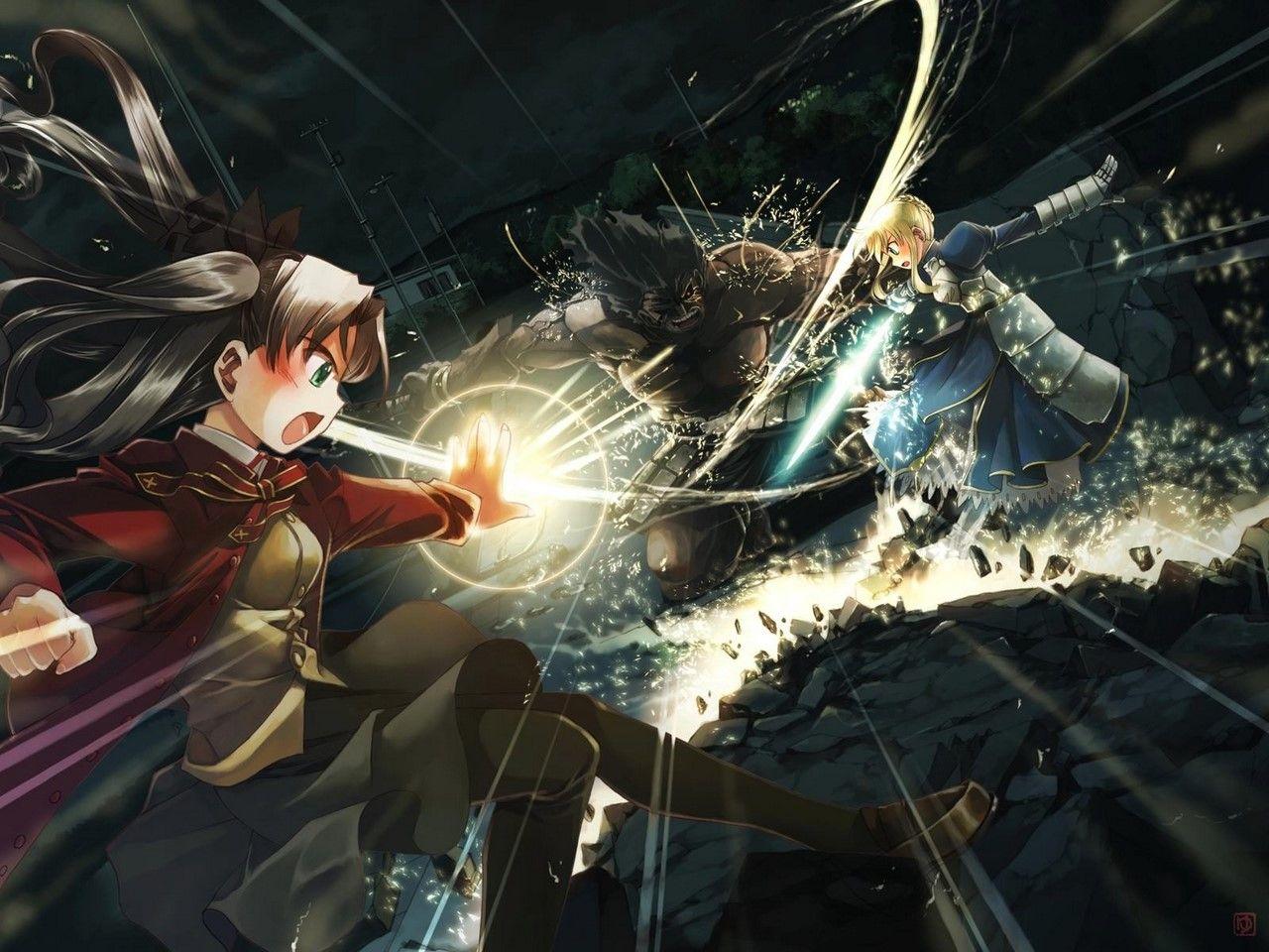 Pin de Emerson em Fate Series Rin tohsaka, Girls anime