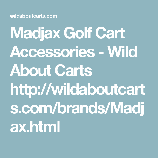 Madjax Golf Cart Accessories - Wild About Carts http ... on motorized bike seats, boat seats, golf carts for disabled, golf carts made in china, wagon seats, go kart seats, golf carts like trucks, golf buggy, golf hand carts, golf seats folding, golf cort, golf golfers carts for handicapped,