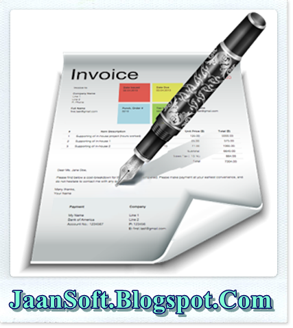 Download Quick Invoice Pro For Windows Latest JaanSoft - Invoice pro app