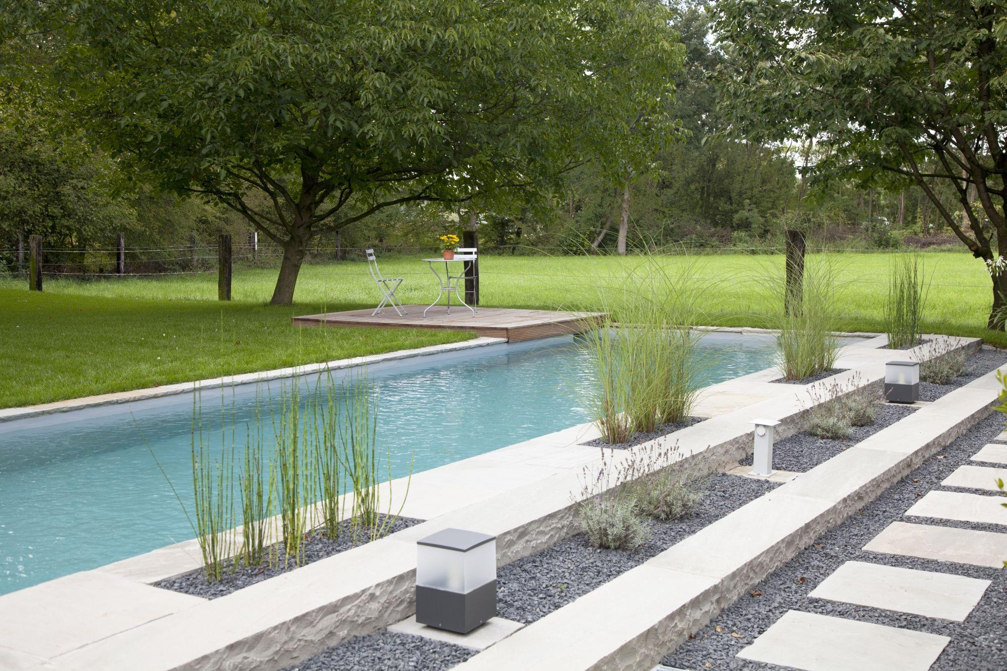 Gräser Pool umgestalten, Häuser mit pool, Hinterhof pool