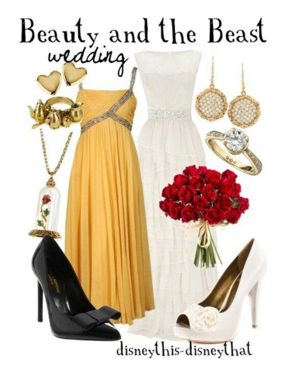 Disney Beauty and the Beast wedding #disney #disneywardrobe