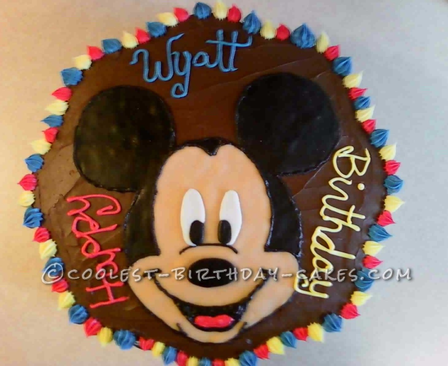 3 Year Old Boy Cool Birthday Cakes Parties Ideas Mickey