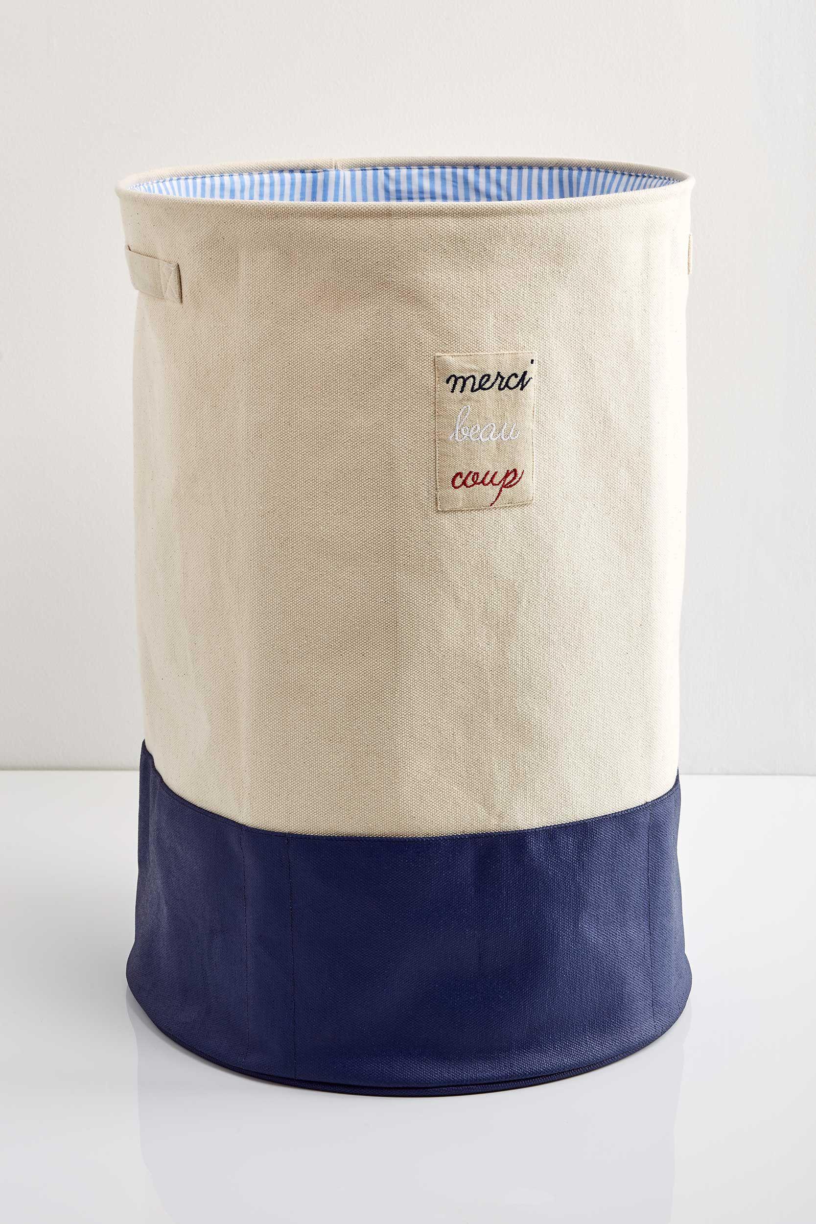 French Laundry Hamper In 2019 Laundry Hamper Storage Bins Laundry