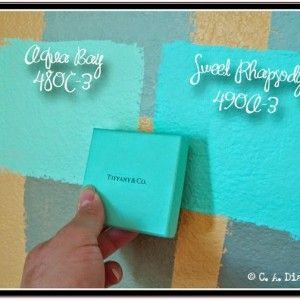 Best Tiffany Blue Paint Color | Home Projects | Pinterest ...
