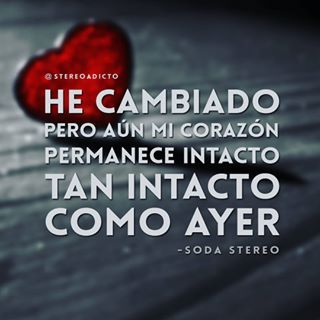 Frases De Soda Stereo De Amor Buscar Con Google Frases