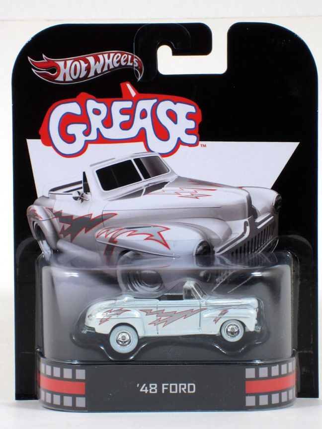 Hot Wheels Retro Entertainment Grease 48 Ford 1 64 Scale Asstf Hot Wheels Toys Hot Wheels Car Wheels