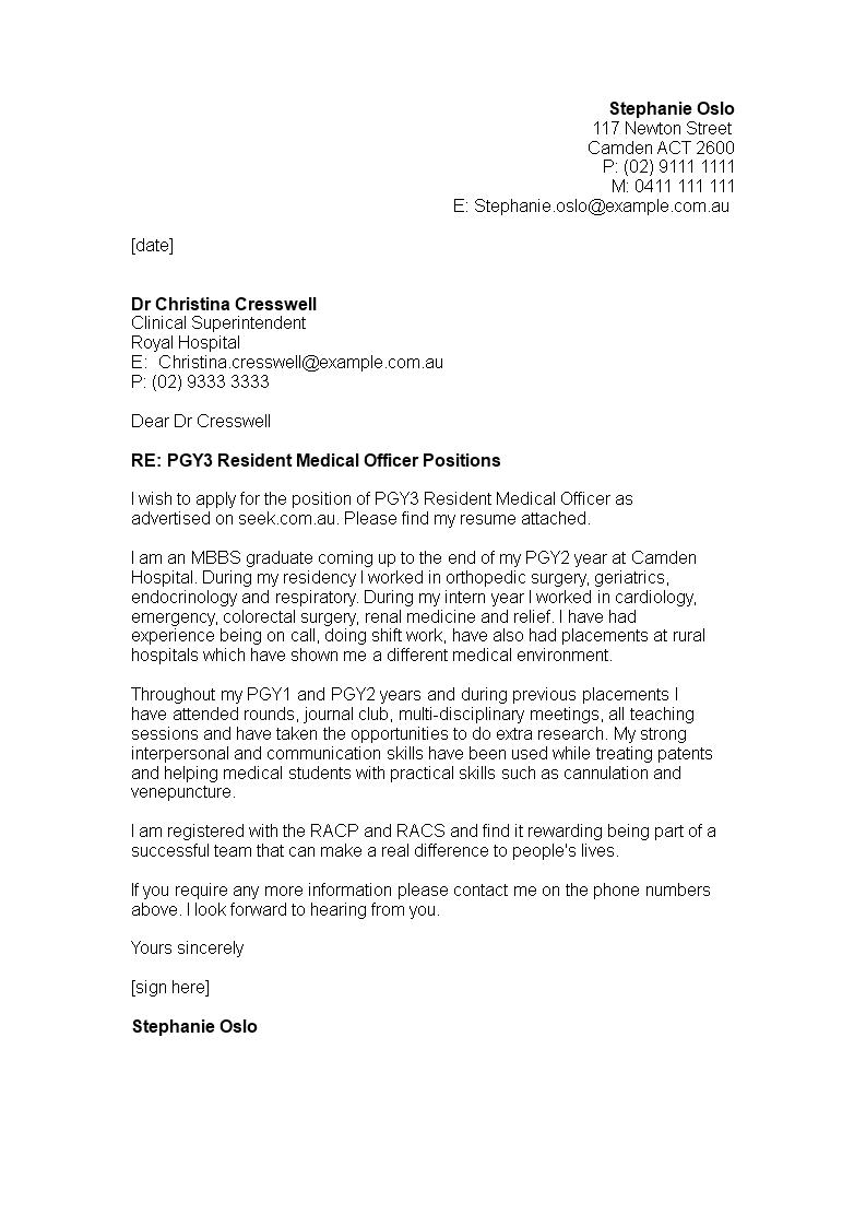 Job Application Letter For Junior Doctor How To Create A Job Application Letter For Job Application Letter Application Letters Job Application Letter Sample
