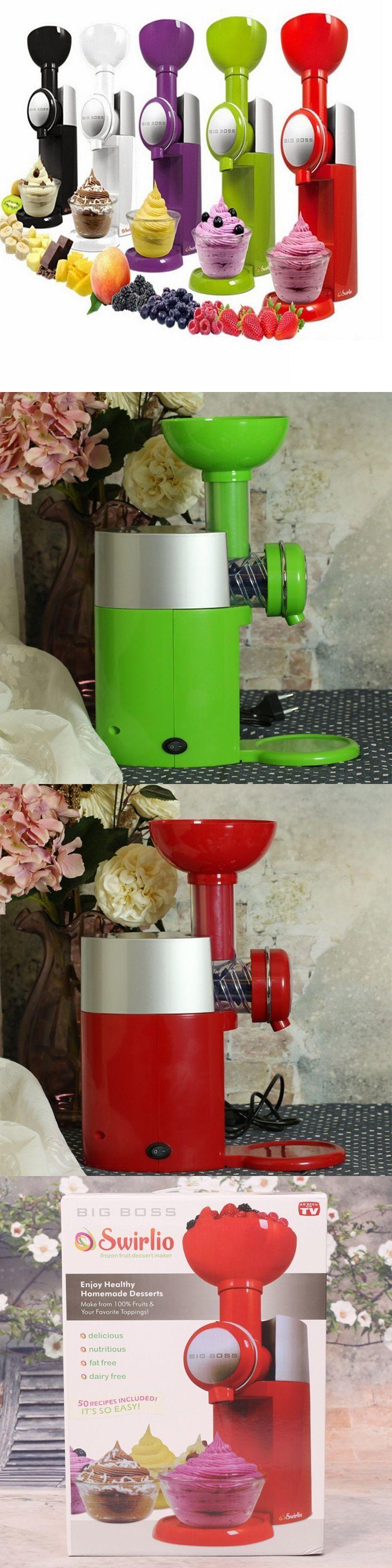 Fruit dessert machine automatic frozen fruit ice cream
