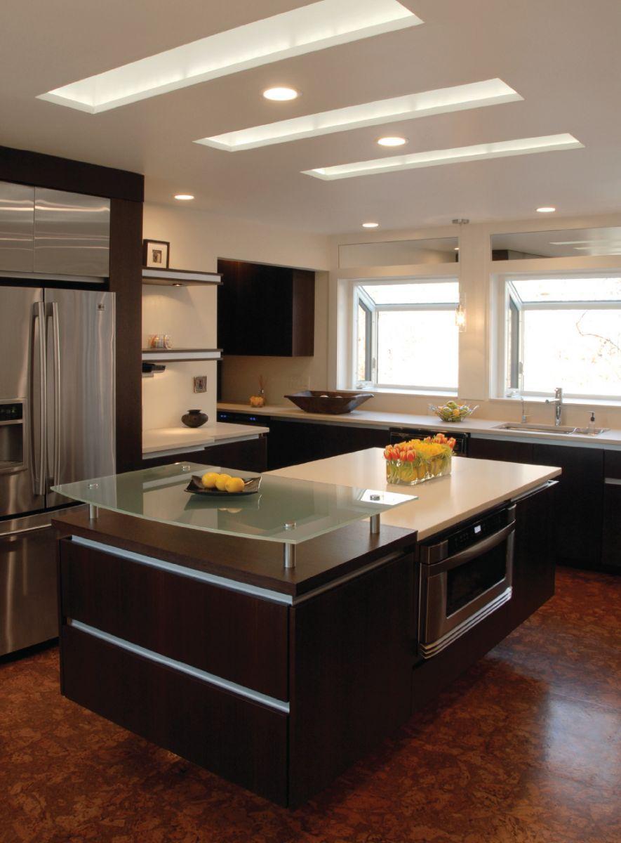 stunning kitchen ceiling design ideas  floating kitchen island  -  stunning kitchen ceiling design ideas