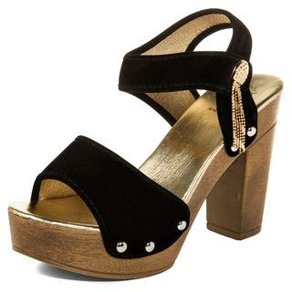 Buy 'yeswalker – Faux Suede Tassel Detail Platform Sandals ' with Free International Shipping at YesStyle.com. Browse and shop for thousands of Asian fashion items from Hong Kong and more!