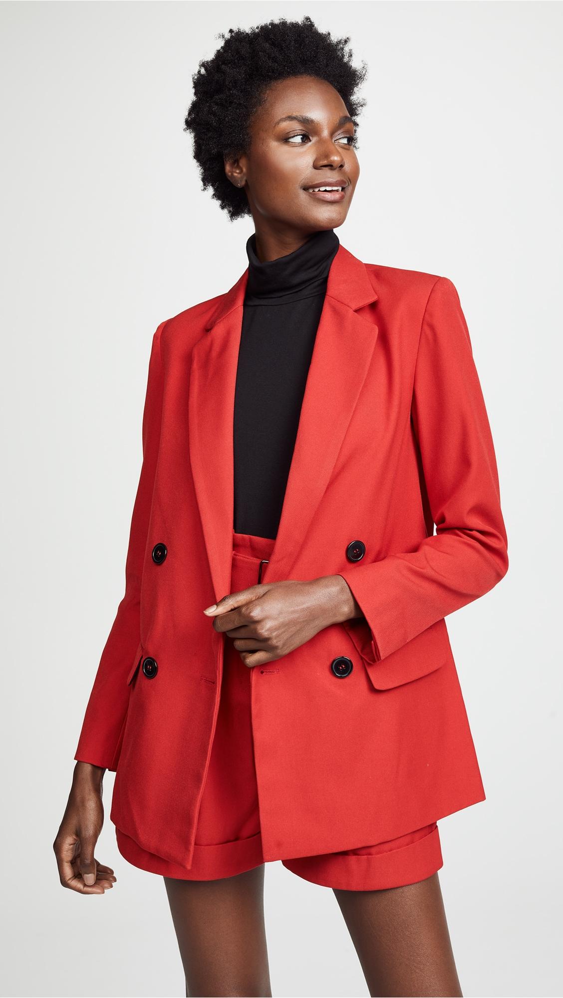 How to blazer a red wear pinterest
