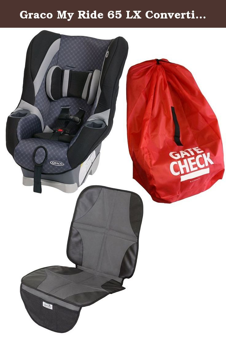 Graco My Ride 65 LX Convertible Car Seat With Gate Check Bag