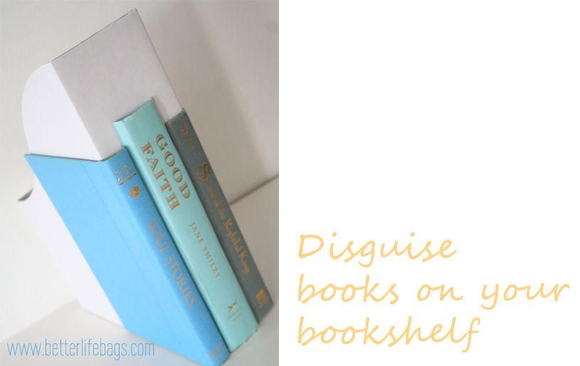 Books organizers.. Cool idea