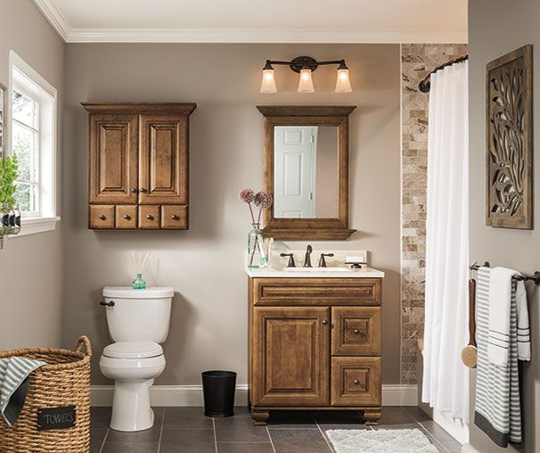 Warm Brown Bathroom Cabinetry Ideas And Inspiration At Value Prices Be I Traditional Bathroom Vanity Bathroom Vanities Without Tops Bathroom Collections