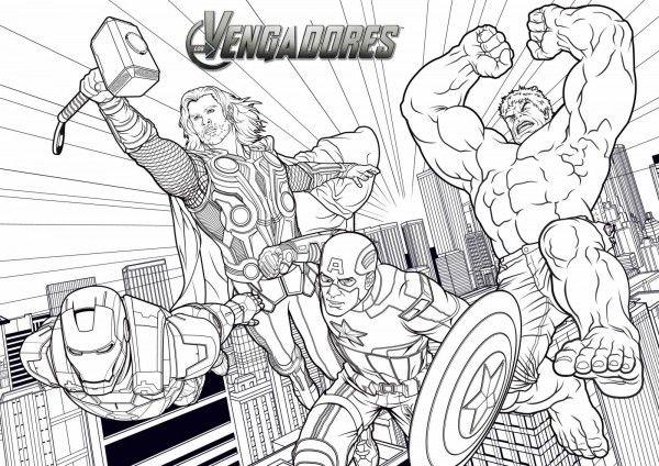 Dibujos Para Colorear En El Ordenador De Hulk Ideas Creativas Sobre ...