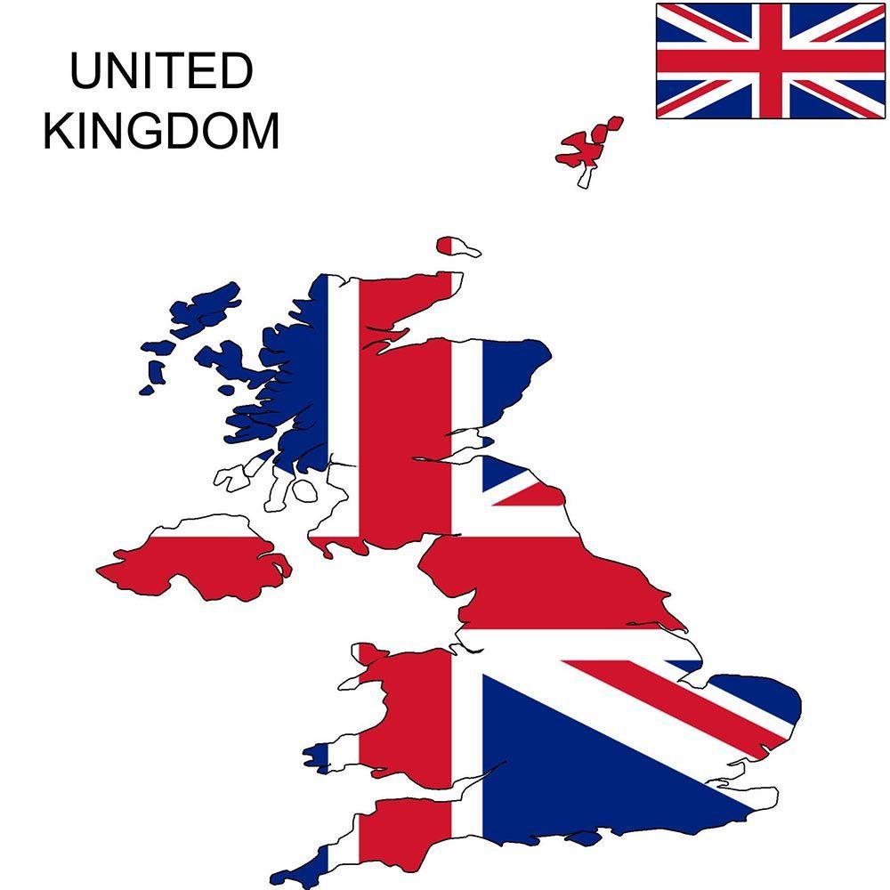 Great Britain Icin Arama Yaptiniz Map Universal Em 2020 Mapa
