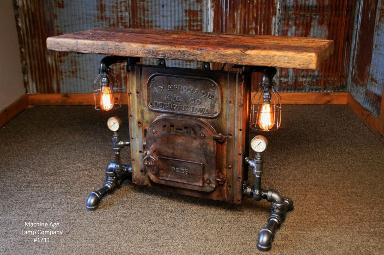 77 Awesome Steam Punk Coffee Table 2019 Steampunk Furniture