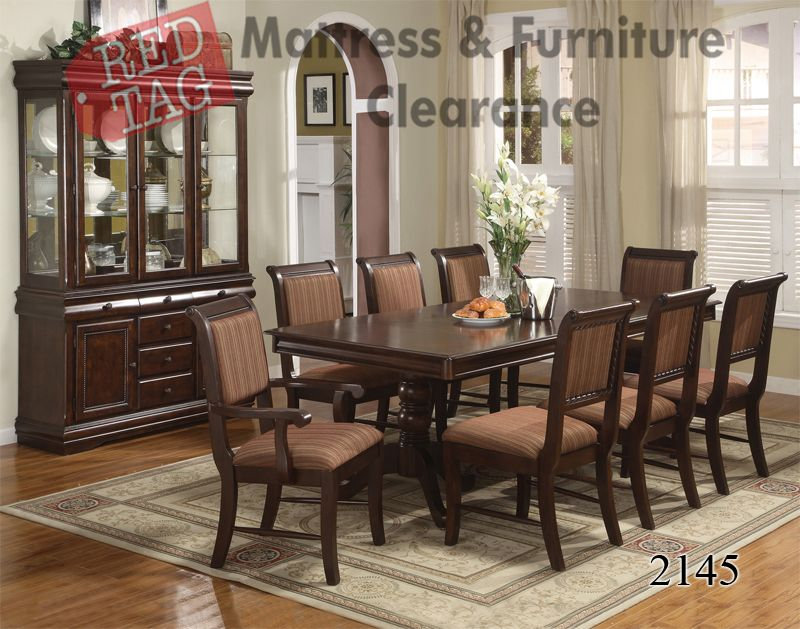$98999 7 Piece Dining Group D2145Setbeautiful Dining Table Adorable 9 Pc Dining Room Sets Review
