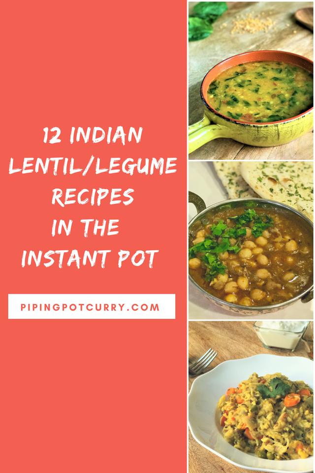 15 Indian Lentil Bean Recipes In Instant Pot Instant Pot