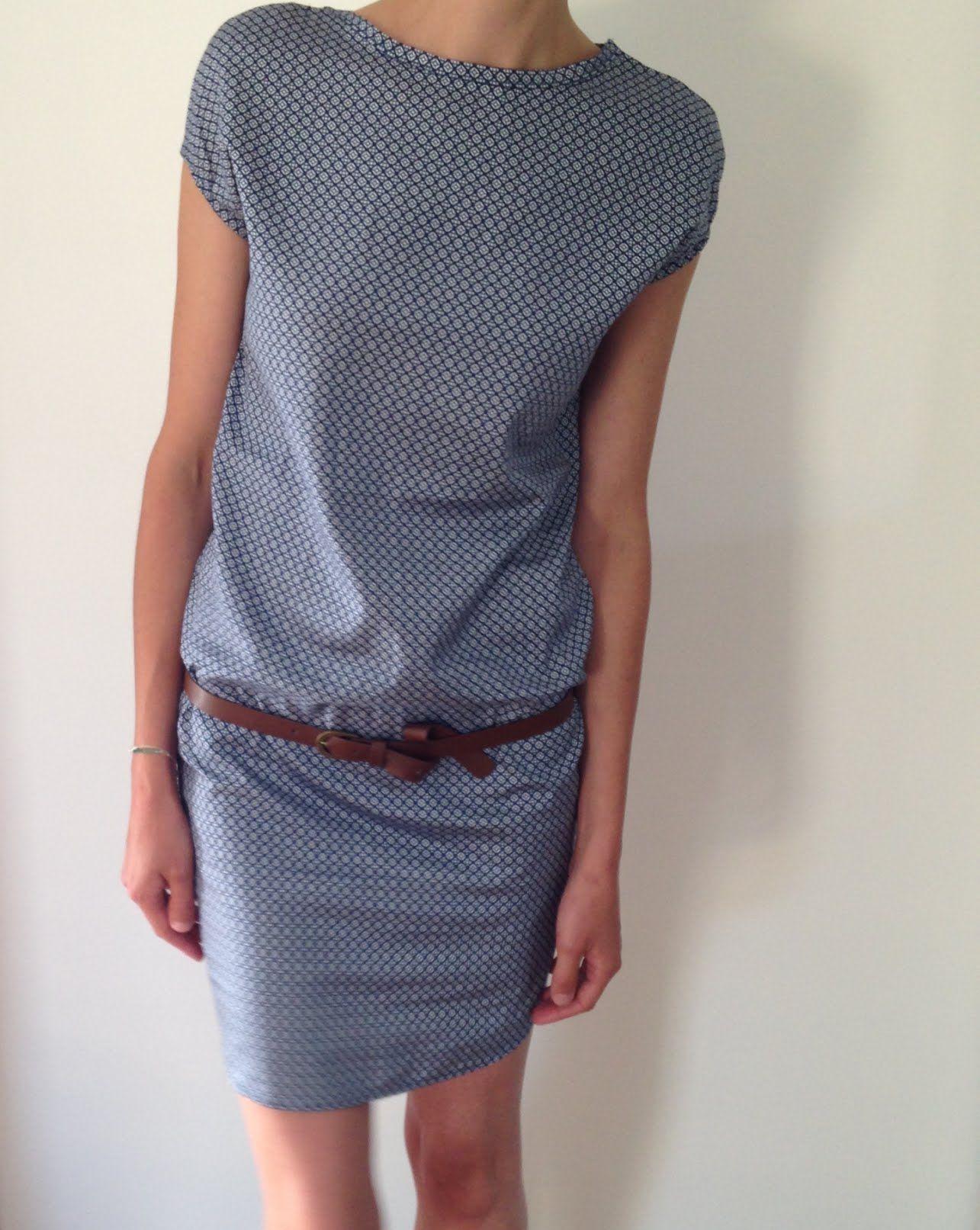 a01bfd4e2b5 Tuto couture Robe Femme Handmade Coupe droite Nantes