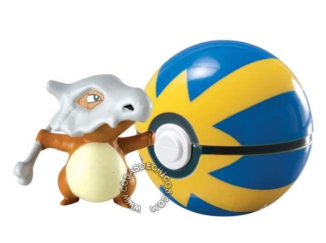 Figura Pokemon Con Poke Ball Cubone Pokemon Toy Pokemon Pokemon Party