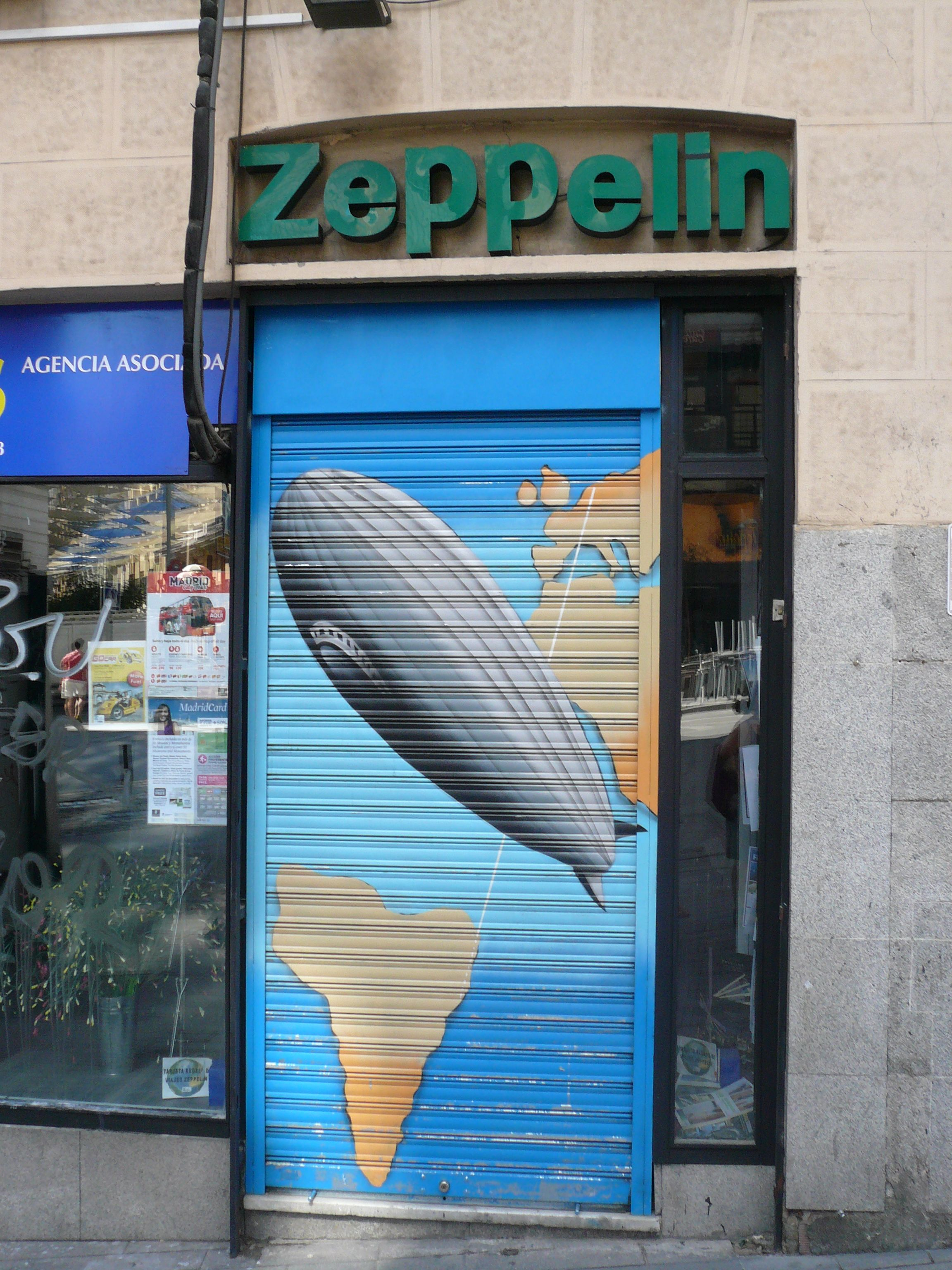 Travel Agency Madrid (Spain). August 2012