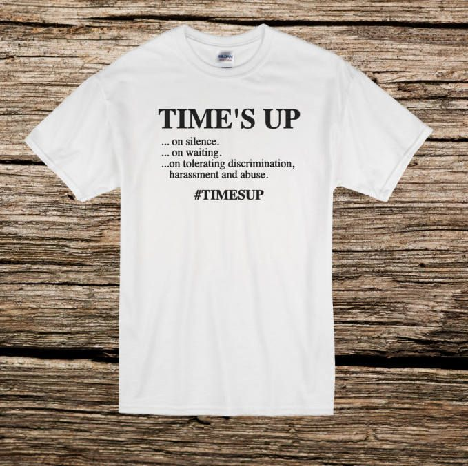 4c433f0f067 Time s Up T-Shirt  timesup women s movement Me too We Stand with you We  Support You by GlimpseOfGrey on Etsy