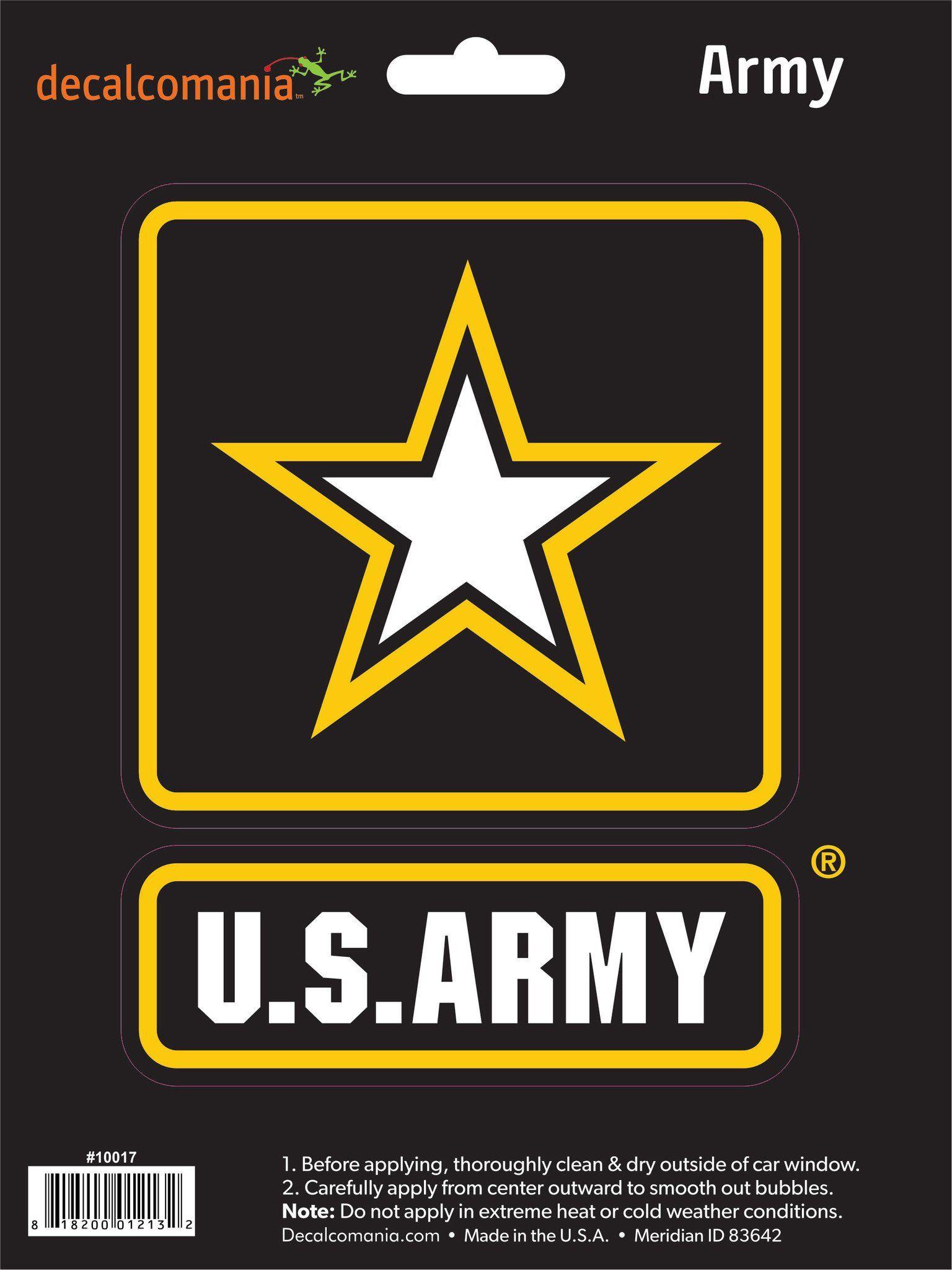 United States Army Logo Decal Ejército de estados unidos