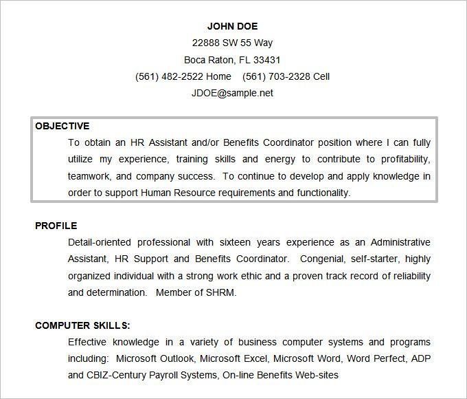 61 Resume Objectives Pdf Doc Resume Objective Sample Resume Objective Good Objective For Resume