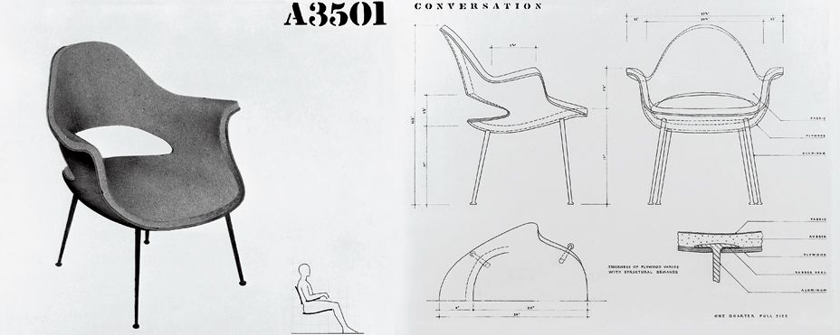 Icons of an era classic chair designs design agenda for Icon mobel eames