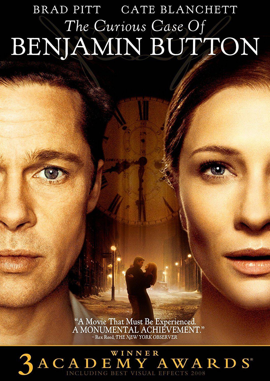 Curious Case Of Benjamin Button Cate Blanchett Matt Damon Brad Pitt Good Movies David Fincher