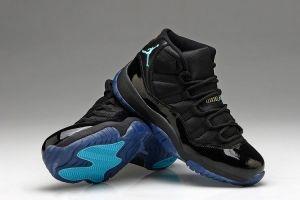 half off d9080 6b6d7 Air Jordan 11 Black Gamma Blue