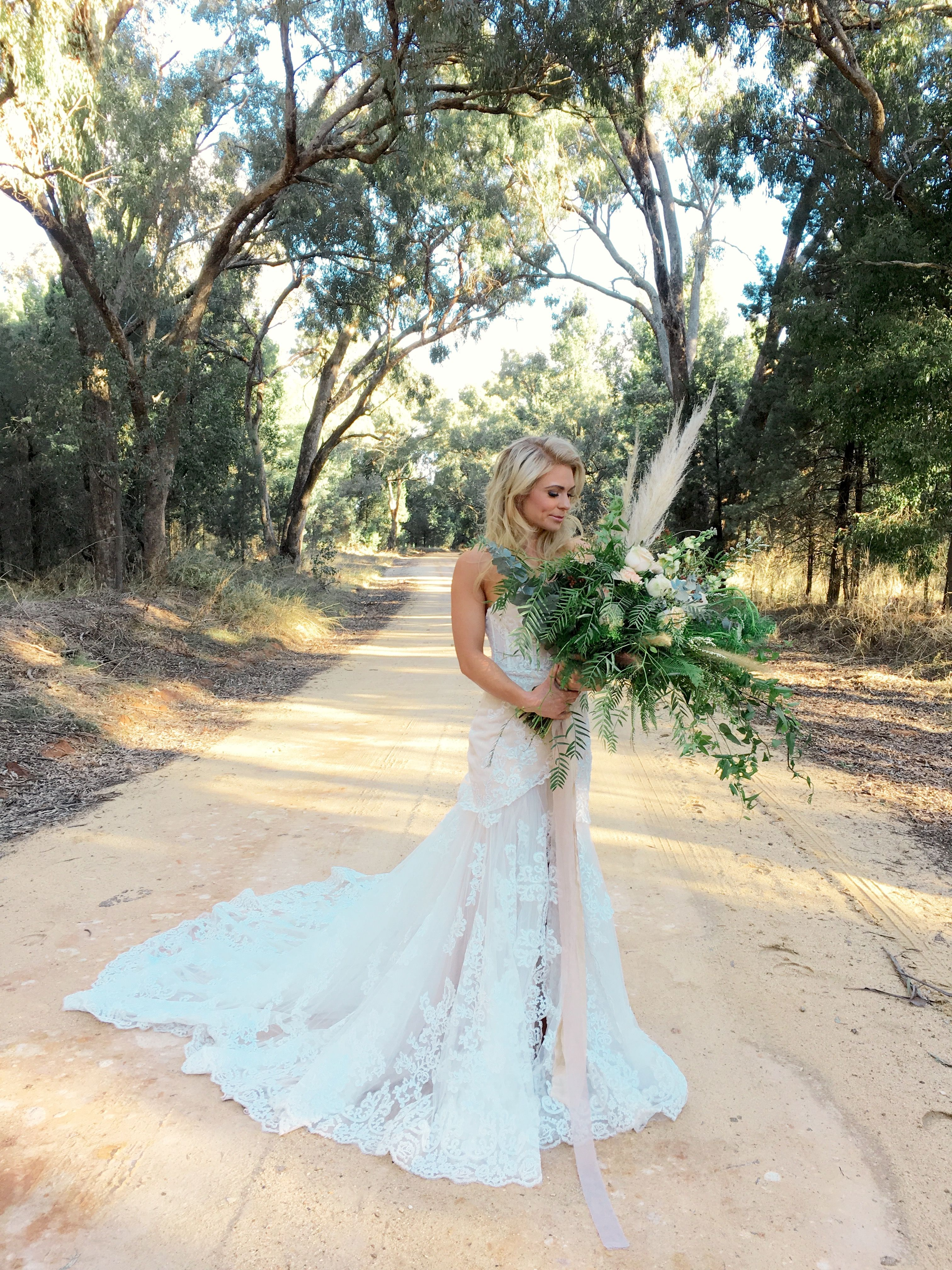 BELLA bridal gown by Goddess By Nature Ivory lace strapless wedding ...