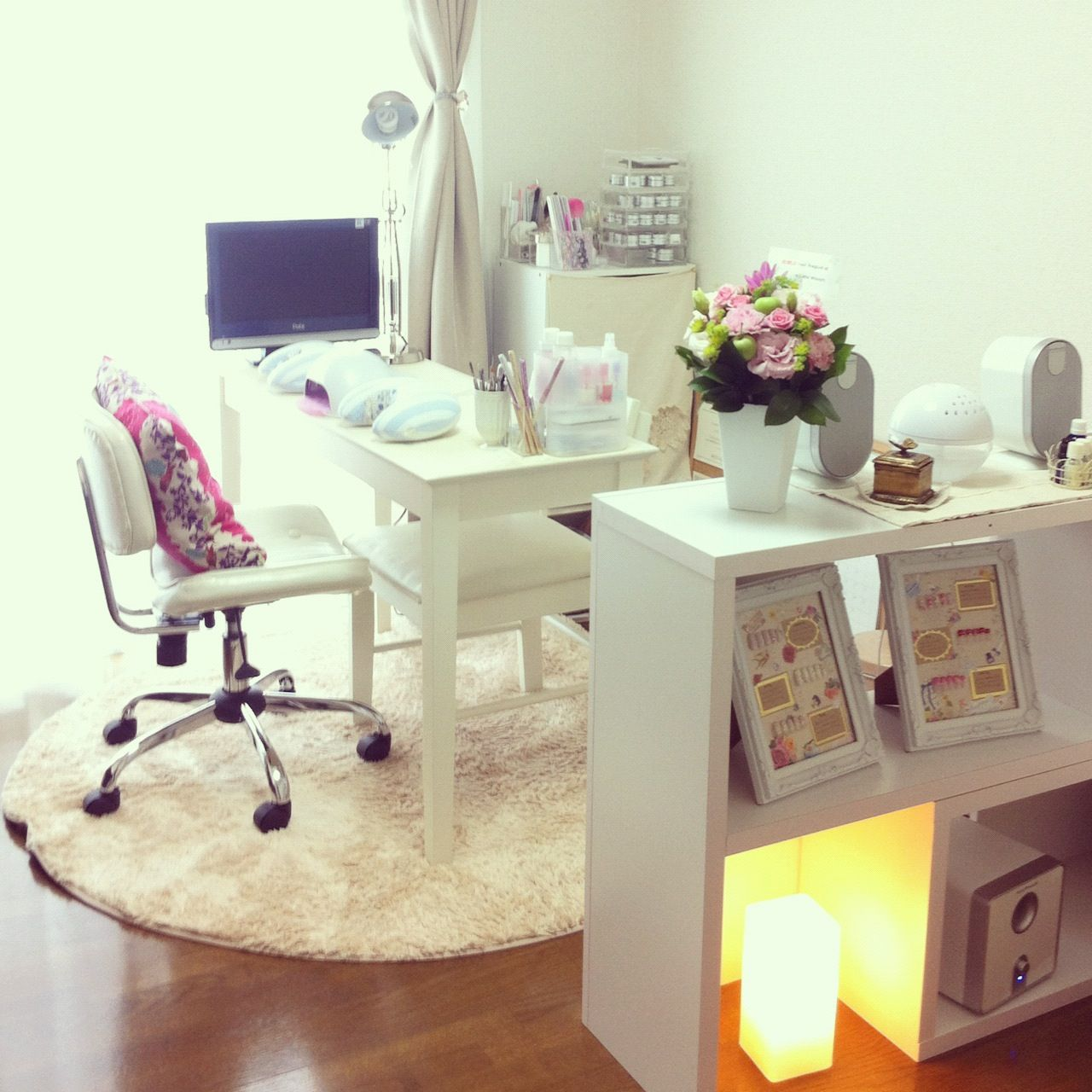Idea For Nail Room Set Up Nail Room Decor Nail Technician Rooms